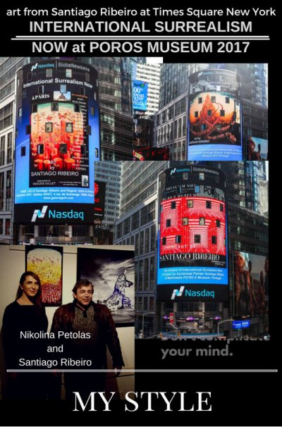Santiago Ribeiro Nasdaq OMX Group du Times Square à New York City