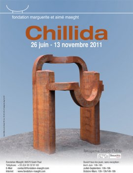 EXPOSITION EDUARDO CHILLIDA FONDATION MAEGHT