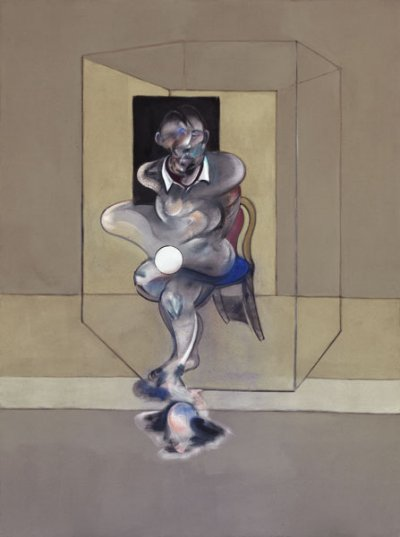 Francis Bacon Étude pour autoportrait (Study for Self-Portrait), 1976 Huile et pastel sur toile 198 x 147,5 cm Art Gallery of New South Wales, acquisition 1978 © The Estate of Francis Bacon. Tous droits réservés DACS/VEGAP, Bilbao, 2016 Photo : © Jenni Carter, Viscopy