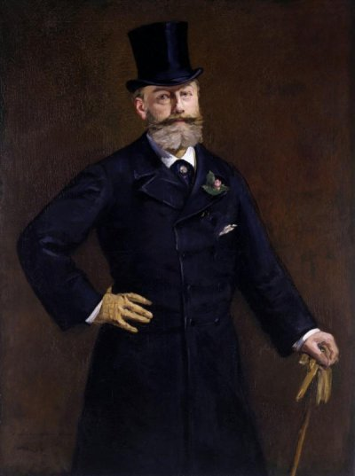 Portrait of Antonin Proust, 1880. Édouard Manet.  (French, 1832 – 1883). French. Oil on canvas.  Unframed: 129.5 × 95.9 cm (51 × 37 3/4 in.) Framed:  164.5 × 132.7 × 6.4 cm (64 3/4 × 52 1/4 × 2 1/2 in.)  The J. Paul Getty Museum, Los Angeles. Accession  No. EX.2019.3.98