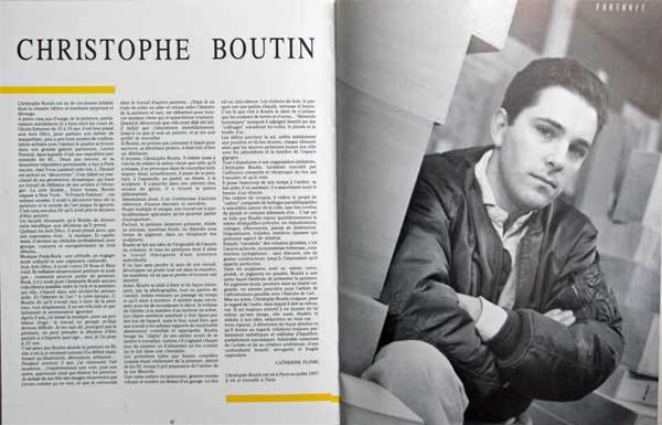 Christophe BOUTIN Magazine EIGHTY