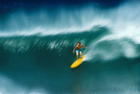 Tony Brinkworth, Sunset Beach, Oahu, Hi. 1974 by Jeff Divine