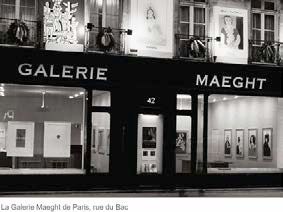 Galerie Maeght Paris © Maeght Editeur Paris