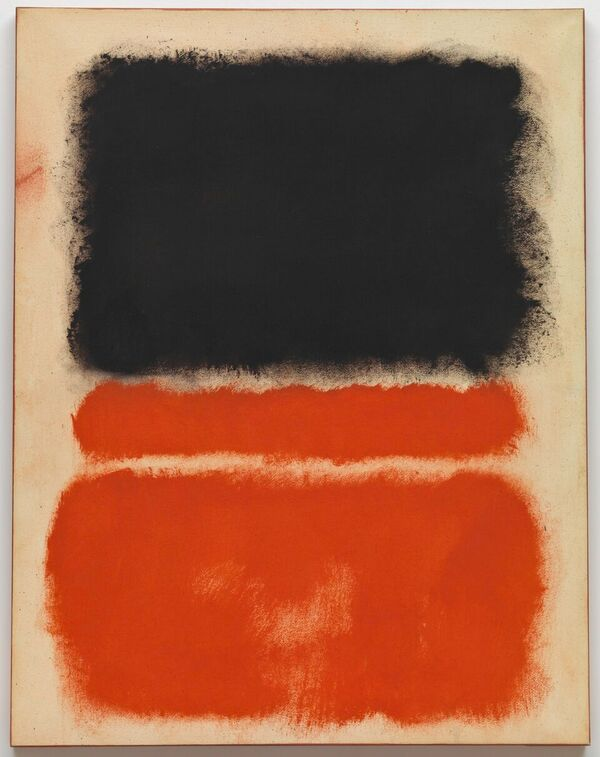 Marc Rothko Untitled Red 1968