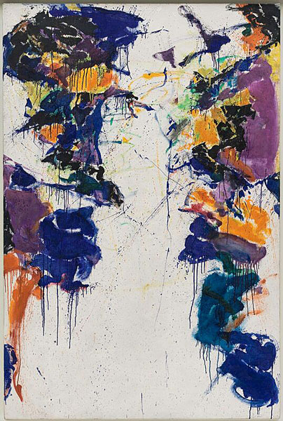 Sam Francis Shinig Back 1958
