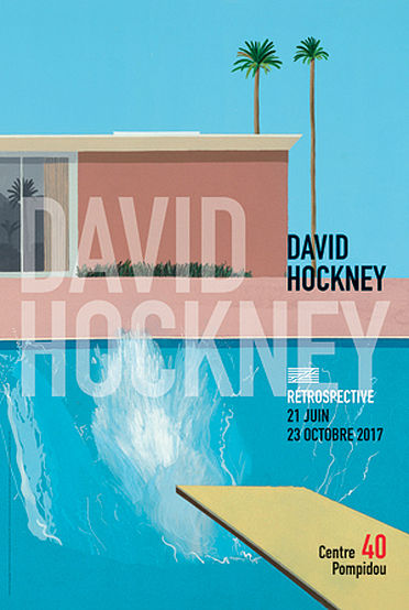 David Hockney Exposition Centre Pompidou