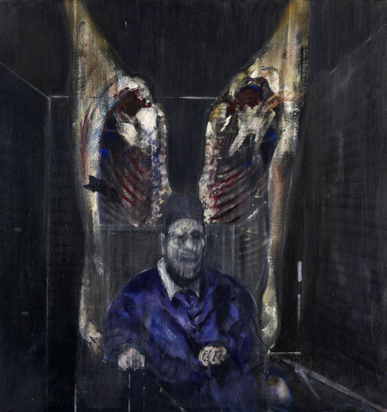 Francis Bacon, Study for Portrait VII, 1953 Huile sur toile 152.3 x 117 cm Gift of Mr. and Mrs. William A.M. Burden. Acc. N.: 254.1956. © 2017. Digital image, The Museum of Modern Art, New York/Scala, Florence. © The Estate of Francis Bacon. All rights reserved / 2018, ProLitteris, Zurich