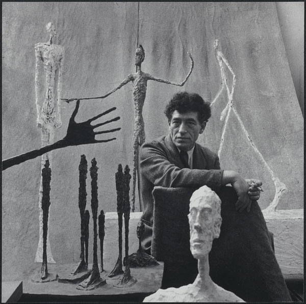 Alberto Giacometti, 1951 Photographié par Gordon Parks Fondation Giacometti, Paris ©The Gordon Parks Foundation