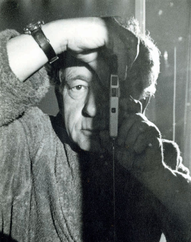 Hans Hartung, Autoportrait, 1966 Épreuve gélatino-argentique Fondation Hartung-Bergman, Antibes © ADAGP, Paris, 2019 Photo : Fondation Hartung-Bergman