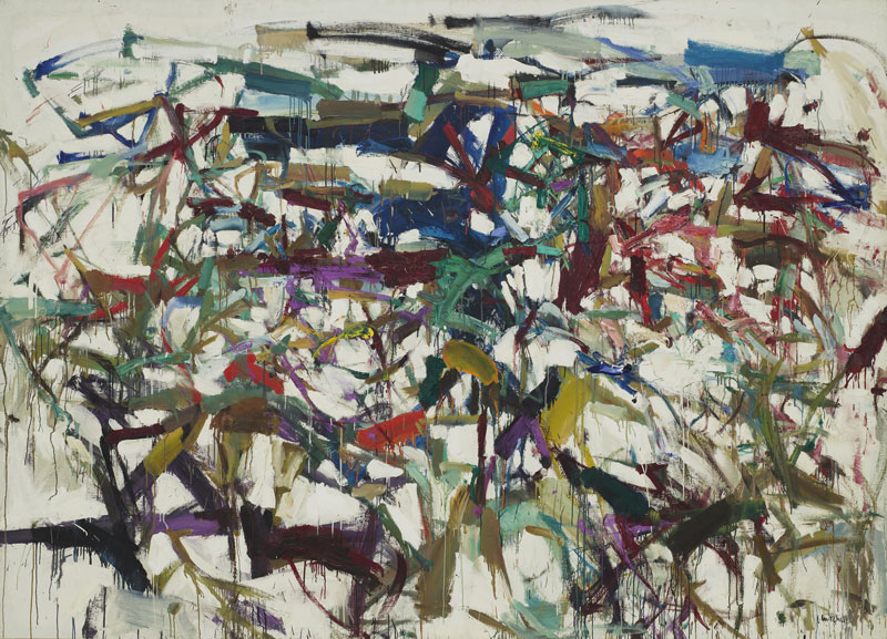 Joan Mitchell (American, 1925–1992). Ladybug. 1957. Oil on canvas, 6