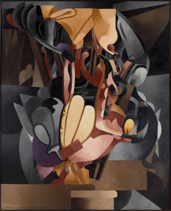 Francis Picabia (French, 1879–1953). Je revois en souvenir ma chère Udnie (I See Again in Memory My Dear Udnie). 1914.  Oil on canvas, 8