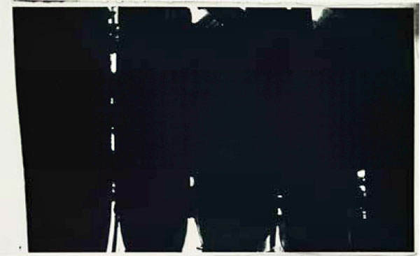 Pierre Soulages Peinture 220 x 366 cm 14 mai 1968  Paris, Musée National d'Art moderne -  Centre Pompidou © Archives Soulages/ADAGP, Paris 2019