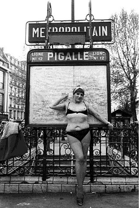 Série Pigalle People © Jane Evelyn Atwood