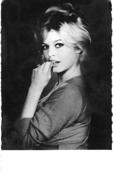 Sam Levin photo de Brigitte Bardot