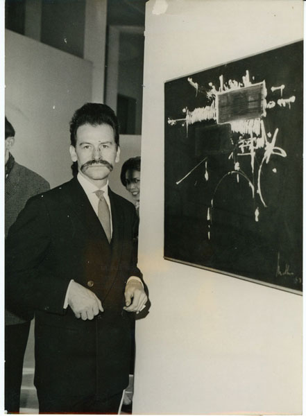 Georges Mathieu photo de 1963