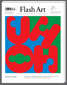 Flash Art International no.304 October 2015